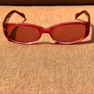 Vintage Red Guess Sunglasses